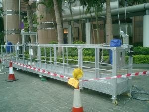 zlp suspended working platform / ltd63 hoist lifting cradle