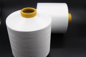 China 50D/72F Doris Polyester Filament Yarn RW Semi Dull Bamboo Joint Yarn on sale