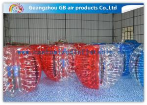 China Beautiful Inflatable Bumper Ball Soft / Human Inflatable Bumper Bubble Balls on sale