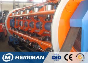 China Rigid Frame Type Cable Stranding Machine Aluminum , Copper , Milliken Conductor on sale