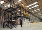 Automobiles Industry Mezzanine Racking System / Storage Mezzanine SS440 Material