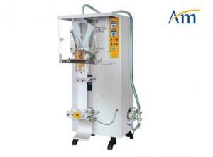 China Back Sealing Power Pharma Packaging Machines For Packaging Liquid 175ml Water Sachet Bag on sale
