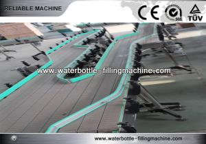 China Soda / Tea Plastic Bottle Conveyor System Automated Conveying Systems on sale