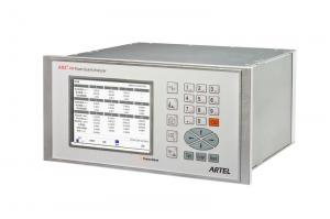 China 16 Relay LCD Power Quality Testing / Signal Source Analyzer 60 Hz on sale