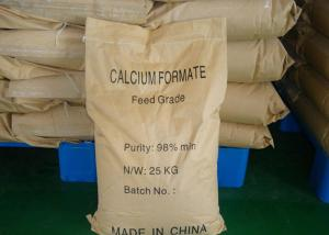 Quality White Crystal Wide Use Calcium Formate Api Powder Cas 544-17-2 For Feed Grade for sale