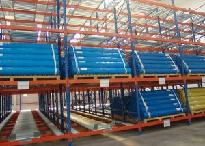 China Low Price Adjustable Carton Flow Rack Warehouse Shelving Unit on sale