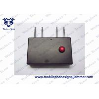 Portable Quad Band RF Jammer 310MHz / 315MHz / 390MHz / 433MHz 400mA Working Current