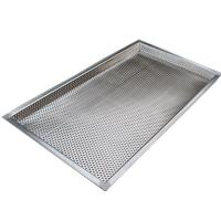 China Food Grade Wire Rack Oven Baking Tray Perforated Filter Moisture Drying on sale
