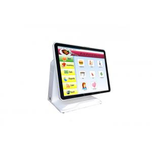 China Waterproof Pos Billing Machine , Flat Screen Pos Register System White Color on sale