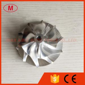 China HX35 3599649/4035699 53.91/78.00mm 5+5 blades performance turbo billet compressor wheel on sale
