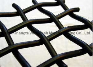 Quality Plain Weave Galvanized Crimped Woven Wire Mesh Stainless Steel Square Chemical Resistant for sale