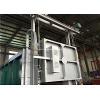 PLC Controlled Electric Resistance Bogie Hearth Furnace 6-8 M/Min Door