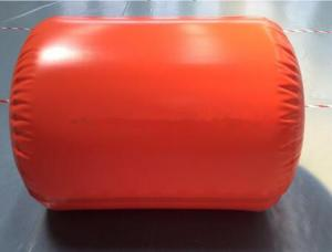 China Flame Retardant Methane Storage Tank Red Tarpaulin With Large Capacity 10000L on sale