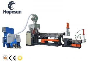 China Side Feeder Plastic Pelletizing Machine / Recycling Extruder Machine 30 - 110 Kw on sale