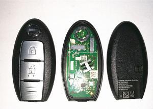 China S180144102 Nissan X Trail Intelligent Key , 2 Button Nissan Qashqai Key Fob on sale