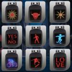 P3.75 Smart Led Backpack Fashion Trends With Application Controlling