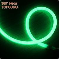 China 220V mini 16mm 360 degree led neon light SMD2835 green on sale