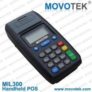 China Movotek wireless pos terminal with nfc reader handheld gprs sms ussd pos printer on sale