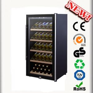 80 Bottles Mini Wne Cooler Jf 80fs Wine Chiller No Vibration Cabinets