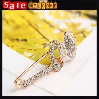Golden Crystal Rhinestone Bow Brooches,значки с булавкой Brooch Wedding Accessories