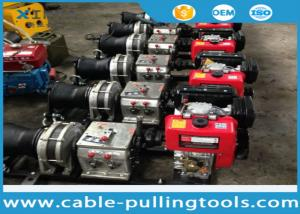 China Fast Speed 5 Ton Winch Machine , Heavy Duty Cable Pulling Winch on sale
