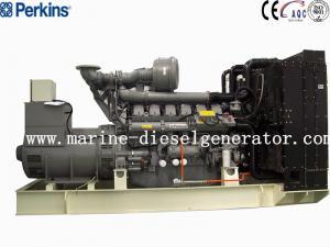 Quality Big Capacity 1688KVA Perkins Diesel Generator , 1350KW 12Cylinders Perkins Generating for sale