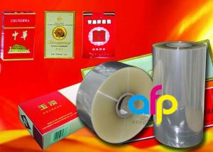 China Multiple Extrusion Laminating BOPP Plastic Film For Cigarette Box Wrapping on sale