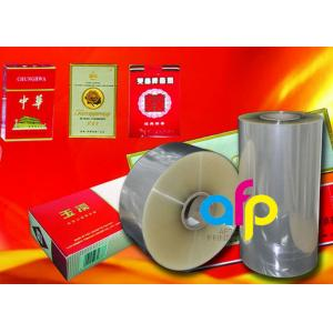 China Multiple Extrusion Laminating BOPP Plastic FilmFor Cigarette Box Wrapping on sale