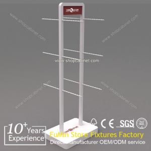 China fantastic advertisment exhibition women garment by model display stands on sale
