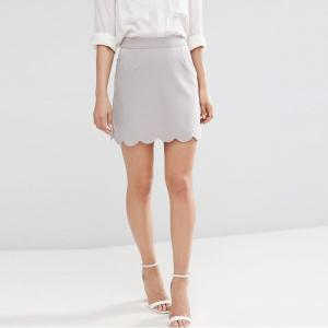 China Wholesale Custom Office Wear A-Line Mini Lady Skirt on sale