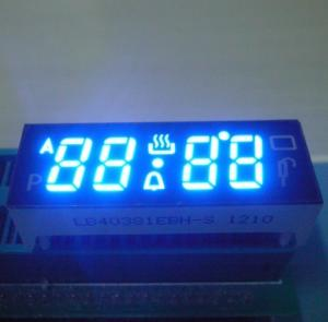 China Home Clock 10 Pin 7 Segment LED Display Common Anode with SMD  0.38  on sale