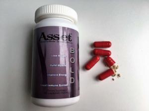 China Asset Bold Herbal Diet Pills Bee Pollen Weight Loss Supplement For Women Slimming on sale