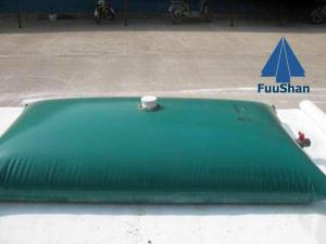 China Fuushan Recycled Flexible Pillow TPU PVC 1000 liter Water Tank 1000 liter Tank for Sale on sale