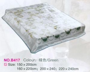 China Geometric Pattern Raschel Heavy Fleece Blanket , Full Sizes Personalised Fleece Blanket on sale