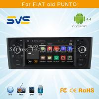 Android 4.4 car dvd player with GPS for FIAT OLD PUNTO 6.1 inch with Bluetooth Blue&me