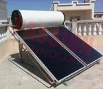 Kitchen Use Flat Plate Solar Water Heater , Rooftop Solar Hot Water System High Heat Efficient