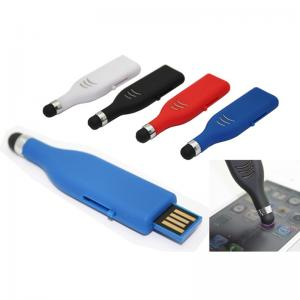 China Promotional Items Touch Pen USB Flash Drives 128MB~64GB on sale
