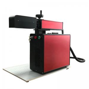 China 3D Dynamic Focus MOPA 0.1KW Fiber Laser Marking Machine For Deep Engraving on sale