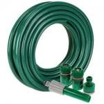 Green Color Bicycle Spare Parts High Pressure PVC Garden Hose BS Standard