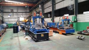 Quality Steel Frame C Z Purlin Roll Forming Machine With 11.5kw Motor And Automatical for sale