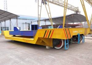 China Customized steel ladle transfer carts on rail with electric scale and screen made in china on sale