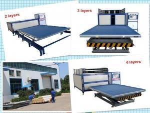 China Heavy Duty Laminated Glass Production Line Auto Lamination Machine 220V-380V on sale