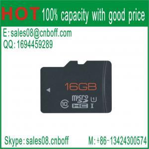 China 2014 New Promotion1GB 2GB 4GB 8GB 16GB 32GB 64GB Real Full Capacity class 10 micro SD card /TF card on sale