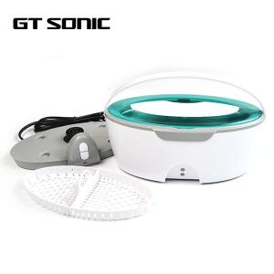 China Portable Dental Ultrasonic Cleaner 5 Mins Auto Shut Off 35w 40kHz 450ml With UV Light on sale
