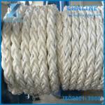 8 Strand Braided Polypropylene Mooring Rope for sale