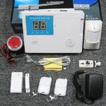 radio à la maison basée sur affichage à cristaux liquides de système d'alarme avec le clavier numérique