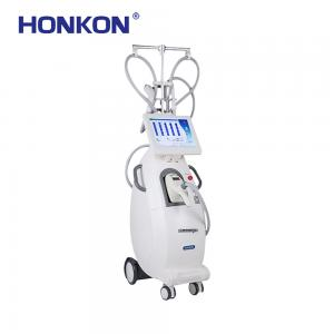 China 700 - 2000nm IR Vacuum Rollar RF Slimming Machine For Fat Loss / Body Reshaping on sale