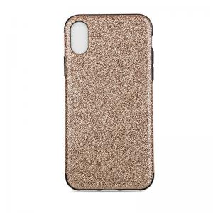 Quality Iphone X Iphone 10 Shinning Leather Back Cover , Tpu Soft Leather Case for sale