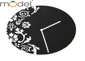 Carving Art Quiet Acrylic Wall Clock For Wedding Decorative Home ...