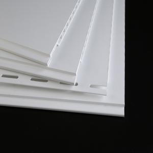 China UV Resistant PVC Decorative Wall Panels , Plastic Wall Covering Panels on sale